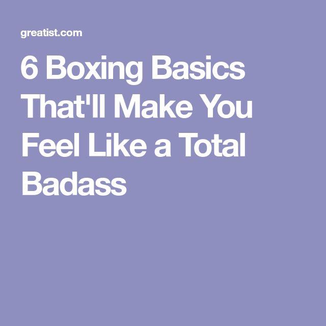 6 Boxing Basics That'll Make You Feel Like a Total Badass