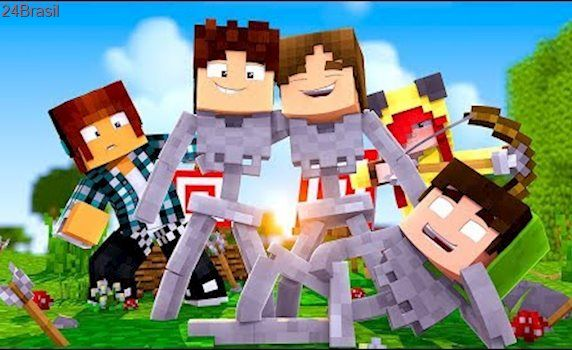 Minecraft: DISFARCE DE ESQUELETO - (Esconde-Esconde com Mobs)