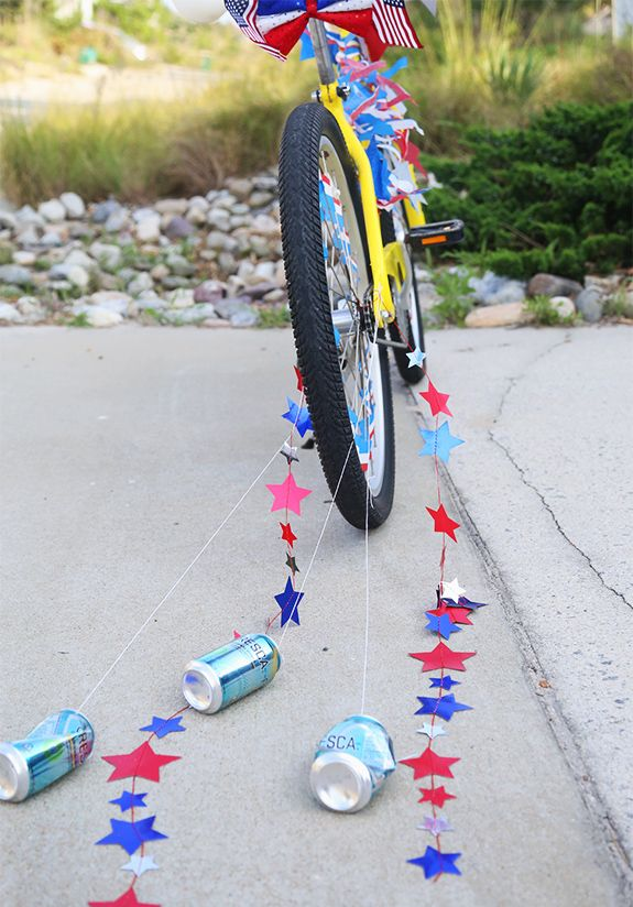 17 best images about bike rodeo on pinterest decorating for Bike decorating ideas