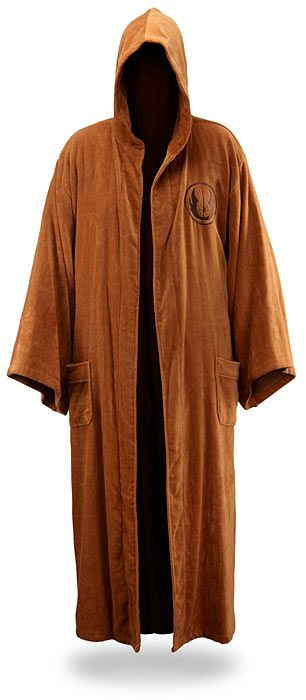 Impress Your Imperial Lady with a Star Wars Jedi Bathrobe! (5 Images)| 8-Bit Nerds