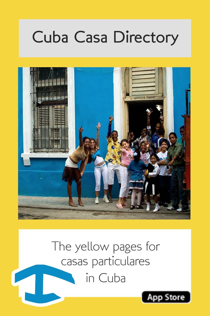 Cuba Casa Directory app - The yellow pages for casas particulates in #Cuba #casas #casaparticlar - http://www.cuba-junky.com/cuba/apps.html