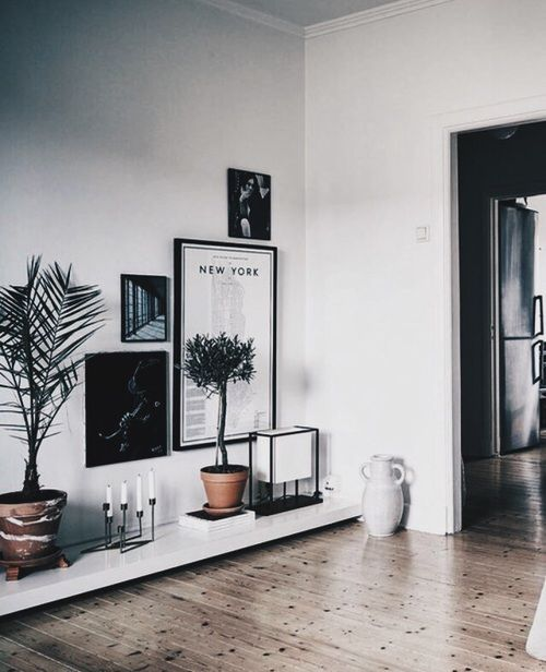 Living room decor ideas inspiration Scandinavian minimalist artists space aesthetics tumblr