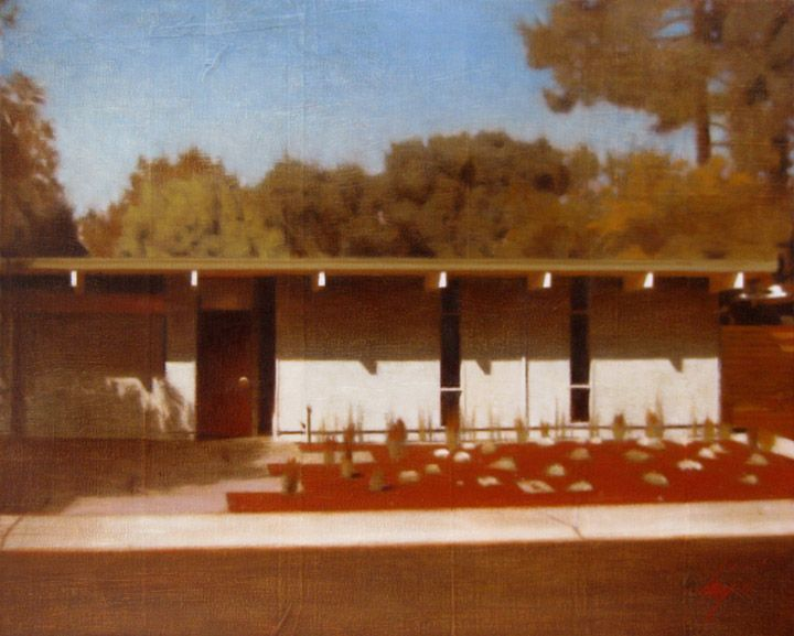 Modern Architecture Artists 119 best art/painting mid-century modern architecture images on