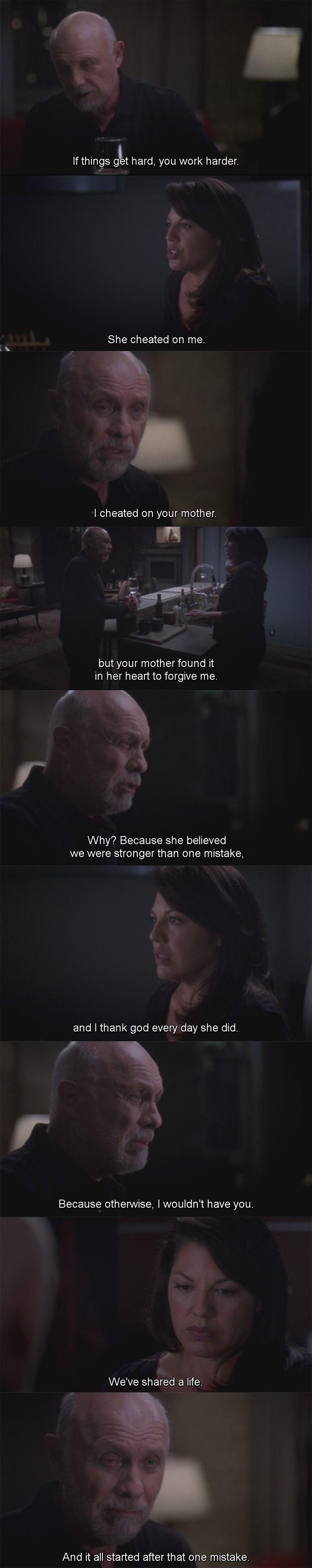 Grey's Anatomy 10x9, Callie & Arizona
