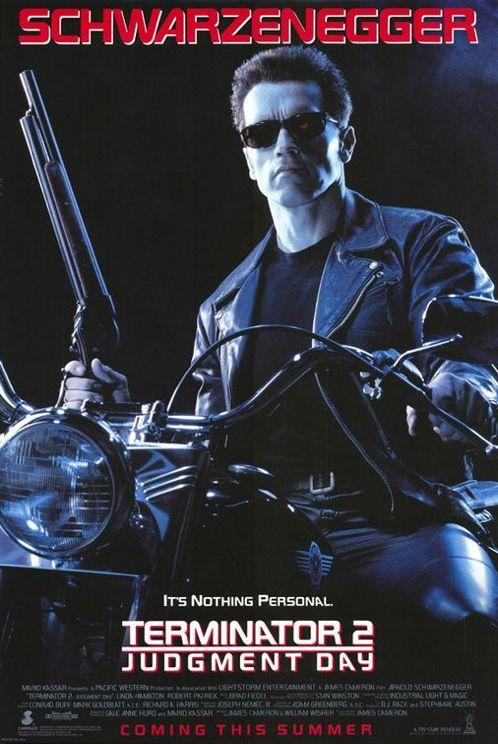Terminator 2 filmposter
