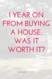 Should you buy a house? Is buying a house worth it? In a nutshell, YES! Home ownership rocks.
