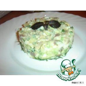 Салат из сельди с авокадо