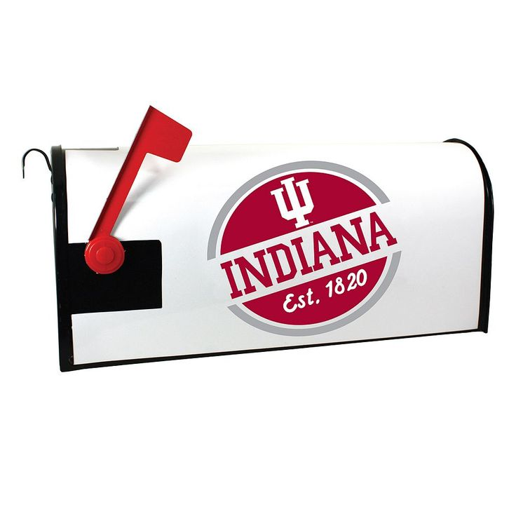 Indiana Hoosiers Magnetic Mailbox Cover, Multicolor