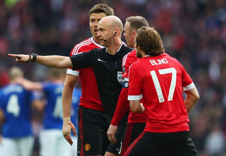 Anthony Taylor is a Premier League referee.