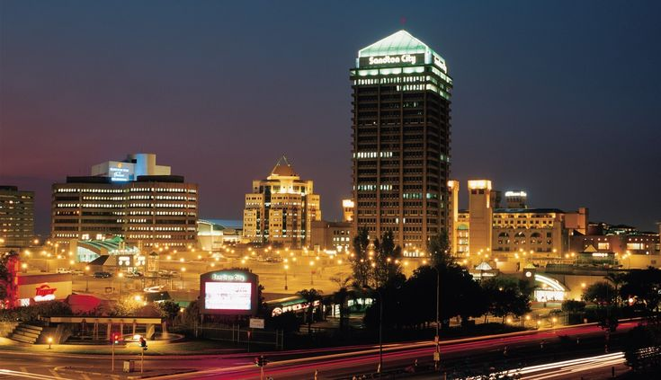 Sandton city landscape.#work #business #SouthAfrica | www.savisas.com |