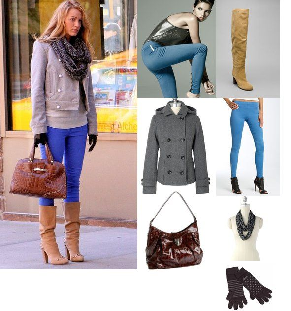 Sighted Serena In An Almost Flawless Outfit Cranberry Red Skinnies From The Gap You Know Love Me Xoxo Julie