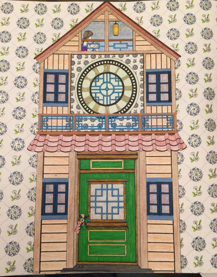 The Time Garden Coloring Book Daria Song TheTimeGarden