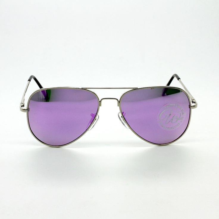 Aviator Sunglass Matt-Purple