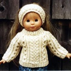 Free Knitting Pattern: Easy Knit Doll - Free Patterns and More at More