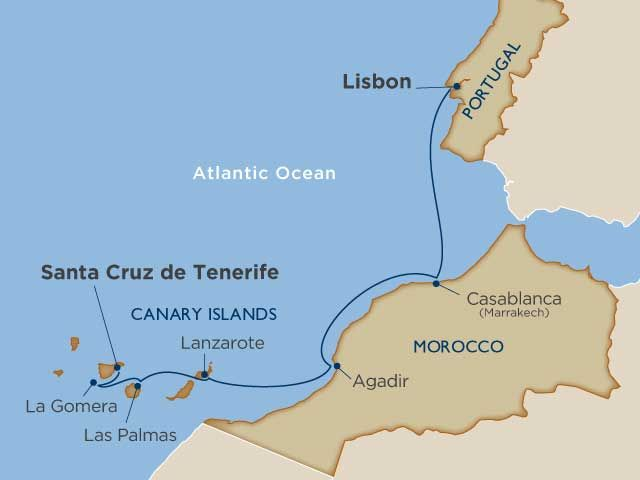 Morocco & the Canary Islands Cruise - Windstar