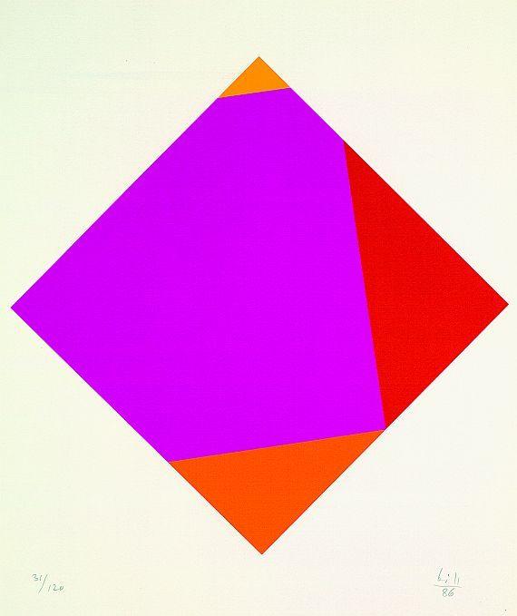 Max Bill - acht transcolorationen                                                                                                                                                                                 Mehr