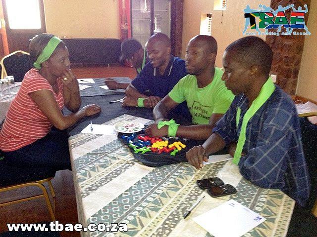 Exxaro Hitting the Target Team Building Witbank Mpumalanga