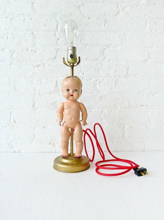 doll diy lamp