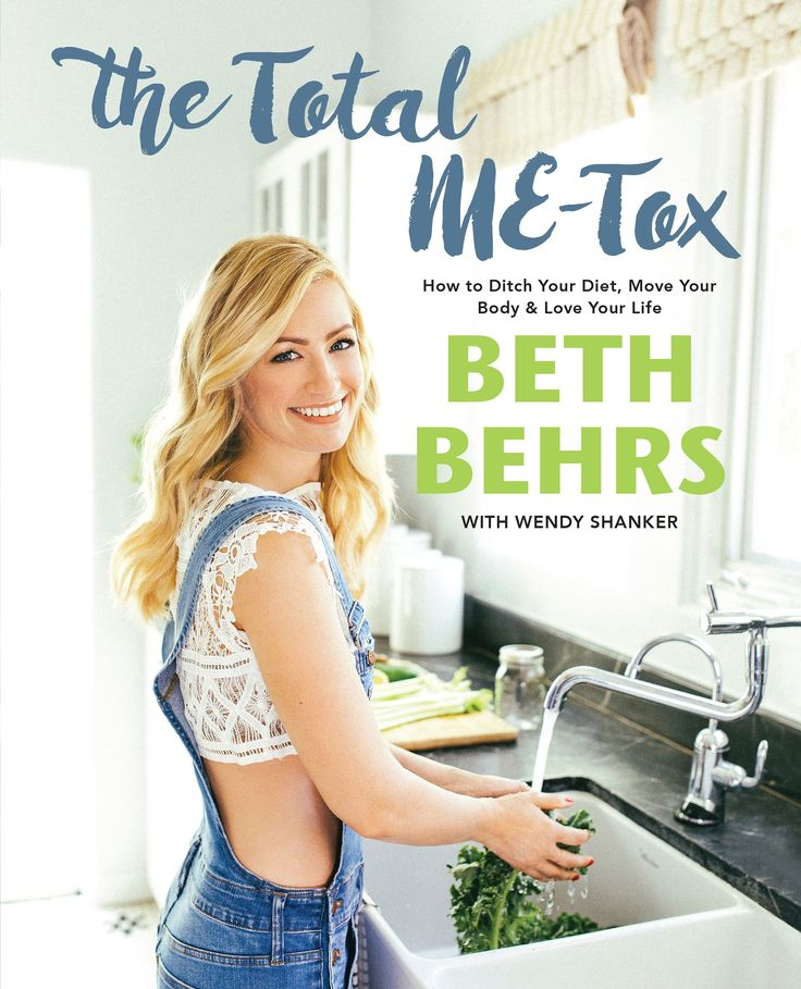 Beth Behrs Shares Highlights from Her Guide to a Healthy Life, The Total Me-Tox