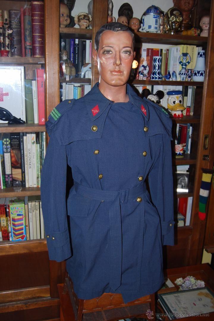 Militaria: GUERRERA DE CABO DEL EJÉRCITO DEL AIRE - UNIFORME MILITAR - CHAQUETA CHAQUETÓN - GABARDINA - AÑOS 60 - Foto 2 - 52926872
