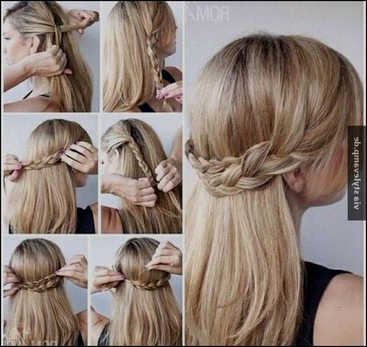 Damen Frisuren Einfache Frisuren Fur Langes Haar Hochzeit
