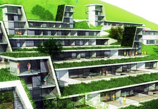 Austria passive Residences by Tobias Weiss and Gernot Reisenhofer