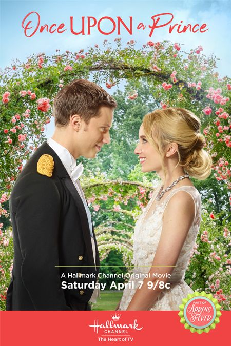 """Its a Wonderful Movie - Your Guide to Family and Christmas Movies on TV: Once Upon a Prince - a Hallmark Channel Original """"Spring Fever"""" Royal Movie starring Megan Park & Jonathan Keltz"""