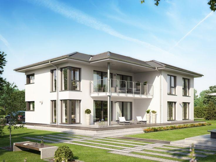 Unser CELEBRATION 282 V4.  #Haus #Fertighaus #Hausbau #Design #Architektur #Zweifamilienhaus #House #BienZenker