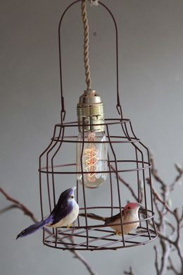 #Lamp van #vogelkooi #Hanglamp | Dutch dilight