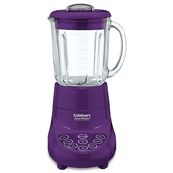 Purple blender - one purple appliance I don't have yet