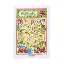 Harrogate District Limited Edition Tea Towel