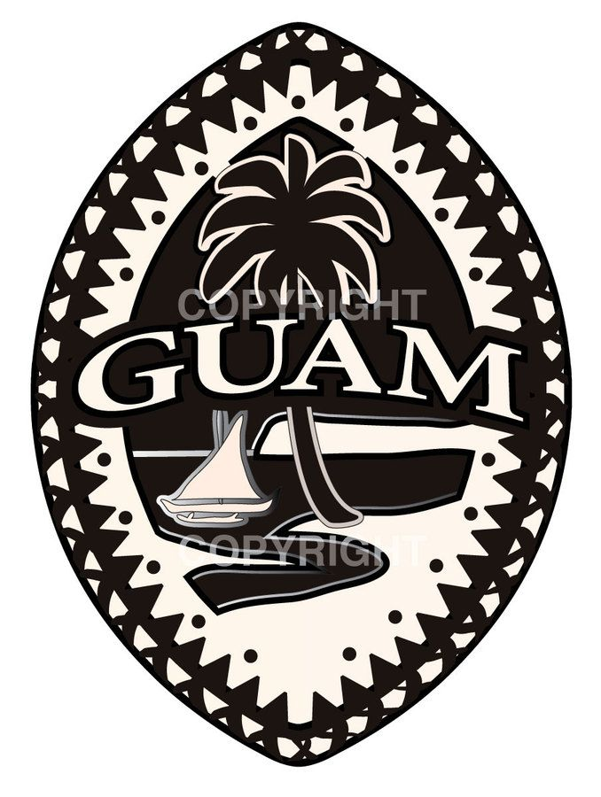Cool Guam Logo Clipart Library