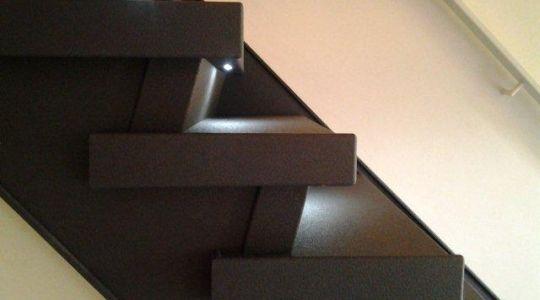 Traptreden met LED-verlichting - een veilig en sfeervol geheel