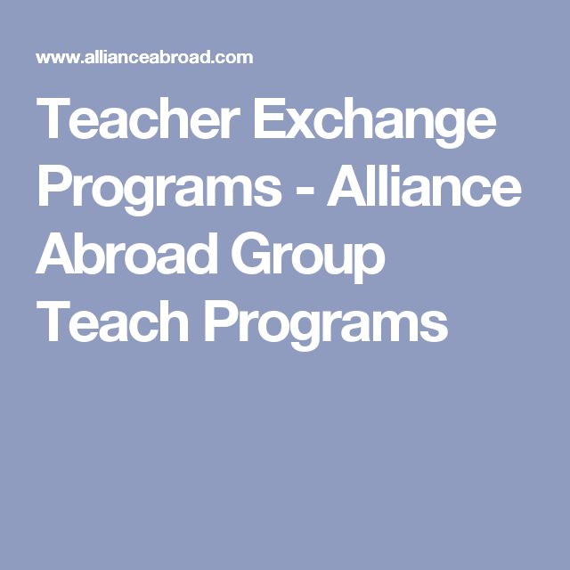 Teacher Exchange Programs - Alliance Abroad Group Teach Programs