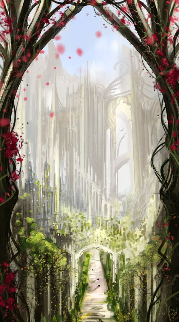 Gondolin before the fall by HecticRed.deviantart.com on @deviantART