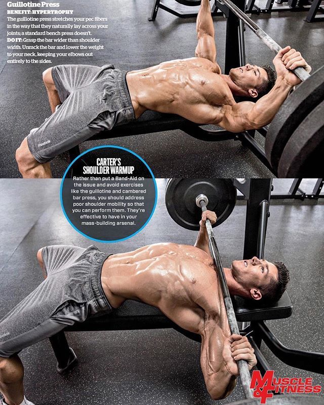 Guillotine Bench Press Part - 47: #flashbackfriday To That Time I Shot With The Talented @perbernalphoto For  @muscle_and_fitness! Hopefully I Will Have Many More Opportunities Likeu2026