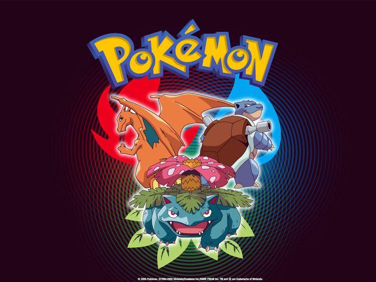 pokemon   Pokemon Wallpaper of Venusaur, Charizard and Blastoise - Pokemon ...