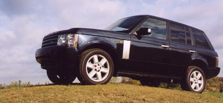 Next SUV. 2003 Range Rover HSE. Extreme terrains eat my tailpipe.