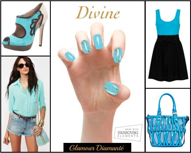 Glamour Diamanté. Exclusively on indiegogo http://bit.ly/1hwPOZj  Made With Swarovski Elements