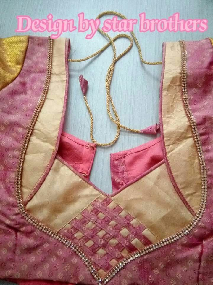 Pin By Soumya Srividhya On Blouse Designs Stylish Blouse Design Fashion Blouse Design Simple Blouse Designs