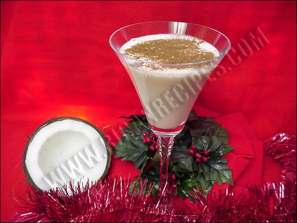 Coquito is a Puerto Rican coconut drink, typically made at christmas ...
