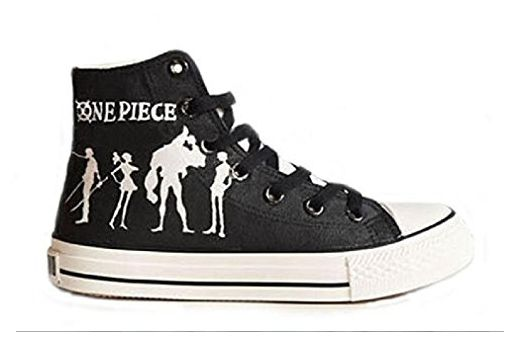 Bromeo One Piece Unisex Segeltuch Hallo-Spitze Sneaker Trainer Schuhe - Sneakers für frauen (*Partner-Link)