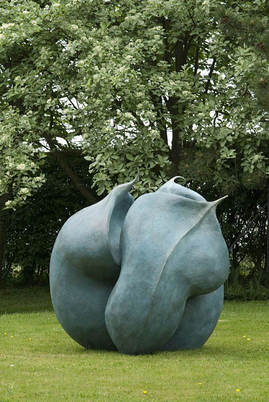 Helleborus Niger Seed Pod | From a unique collection of abstract sculptures at http://www.1stdibs.com/art/sculptures/abstract-sculptures/