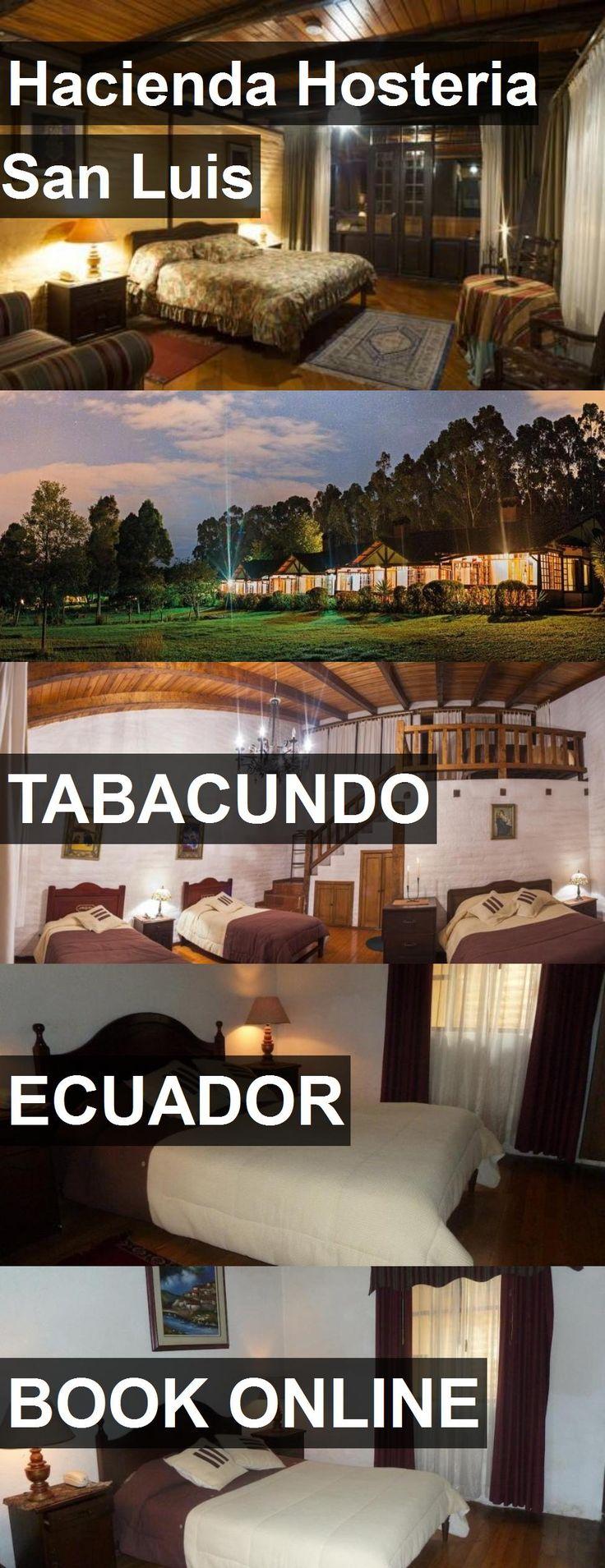 Hotel Hacienda Hosteria San Luis in Tabacundo, Ecuador. For more information, photos, reviews and best prices please follow the link. #Ecuador #Tabacundo #travel #vacation #hotel