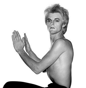 David Bowie by Duffy: Woody Woodmansey. The Spiders From Mars. Unpublished Aladdin Sane