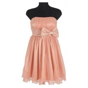 rochie de seara scurta roz, http://www.lafemme.ro/rochie-de-seara-scurta-roz-1603