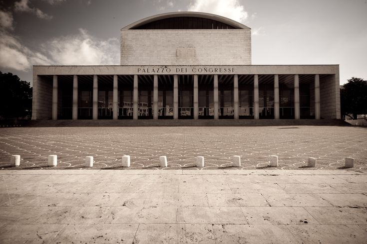Adalberto Libera, Palazzo dei Ricevimenti e dei Congressi, Rome, 1938-1954