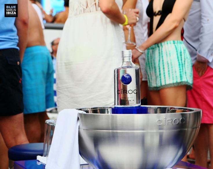 The Honest Group I Design and Installation I Ciroc Take Over I Blue Marlin, Ibiza