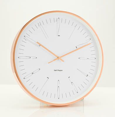 Earthborn  S&P 'Zone' wall clock, was $199.95, now $99.95