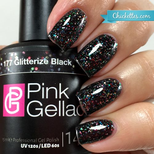Black Gel Nail Polish: 442 Best Images About Gel Nail Polish Swatches On